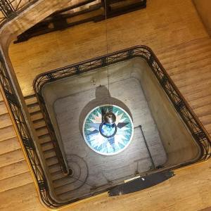 The earth pendulum at franklininstitute is housed inside this beautifulhellip