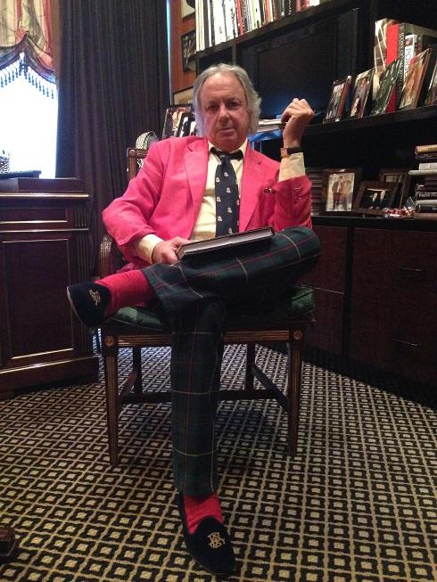 Alan Flusser in his office (9.23.14)
