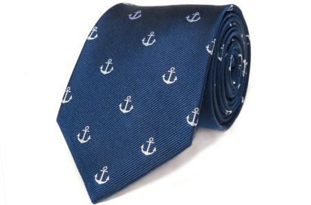 B&M_Navy_Anchor_Tie