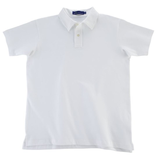 JPM Tennis White Polo