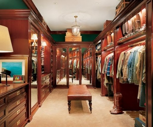 Ralph Lauren's Closet