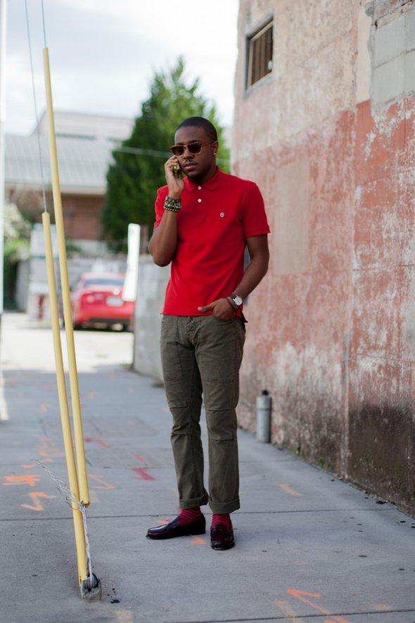 Red polo (via thefashiontag.com)