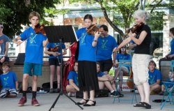 Old Town Square String Players Showcase Music and Arts Workshop
