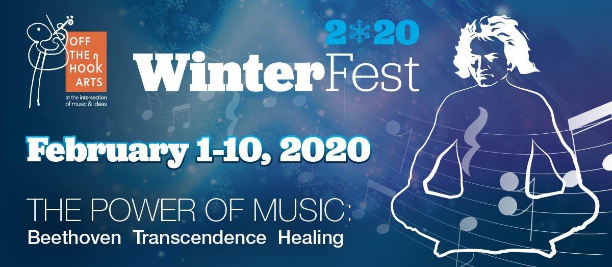WinterFest 2020 banner Off the Hook Arts