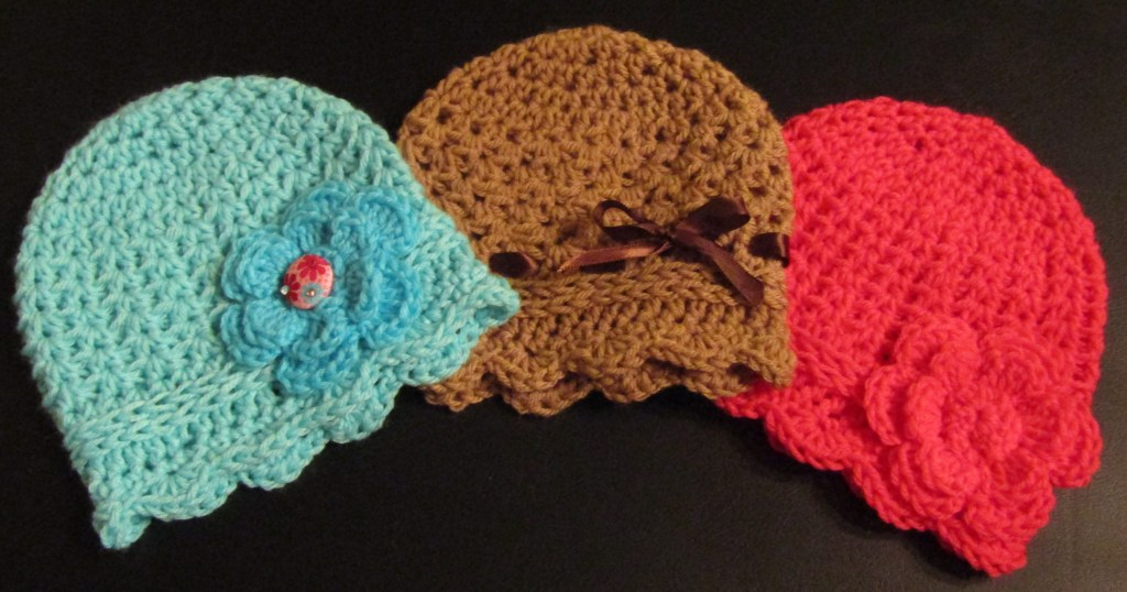 How To Create A Super Cute And Easy Crocheted Newborn Cloche Hat