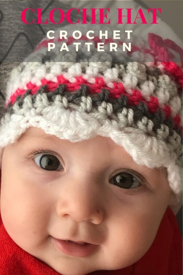 crochet cloche hat pattern | One woman\'s view on the creativity of life