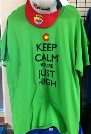 Just high T-shirt