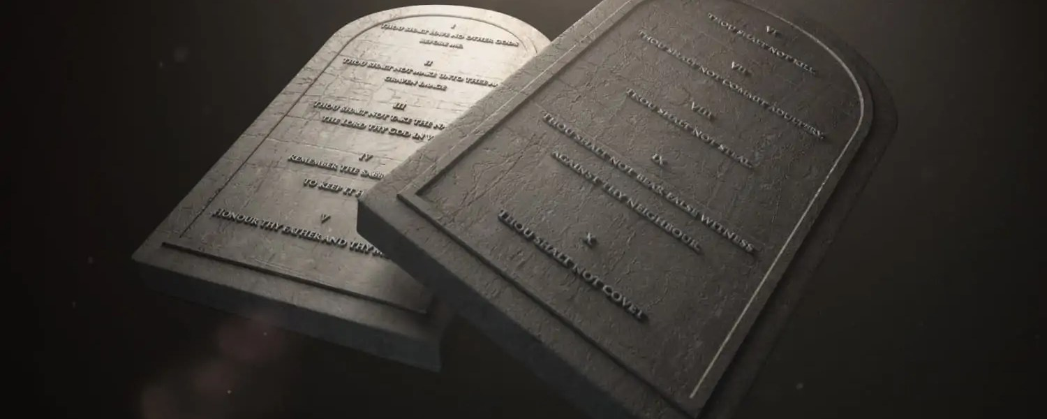 The ten commandments are a tool to help us in our spiritual lives