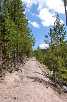 Solfatara Creek Trail Climb