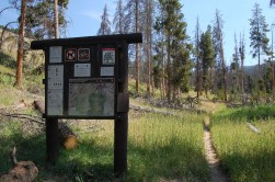 Black Butte Trail Signage