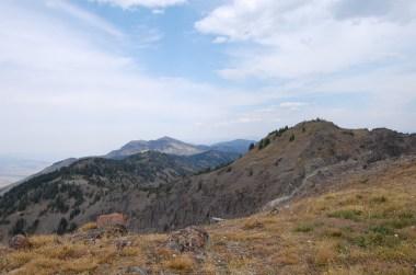 The stunning ridge of the Sky Rim.