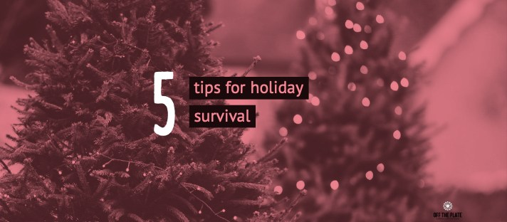 5 Tips for holiday survival