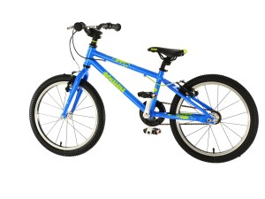 "Squish 18"" Blue Lime Hybrid Bike"