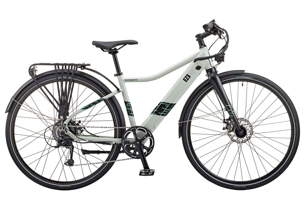 """Ezego Commute INT 15"""" Frame with blue decal"""