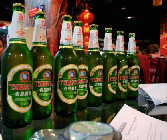 Tsingtao Chinese Beer of Choice