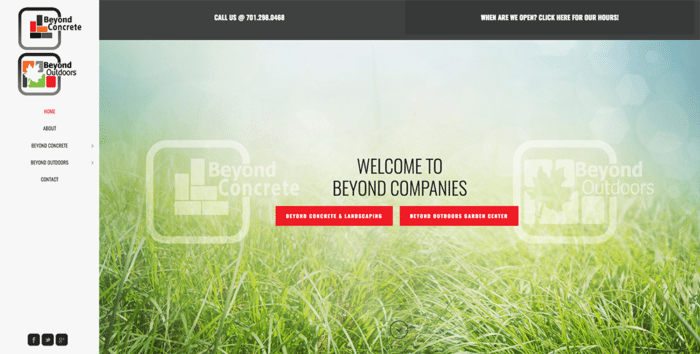 Beyond Outdoors | Websites | Off The Wall Advertising
