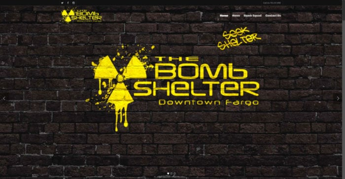 The Bomb Shelter | Websites | Off The Wall Advertising