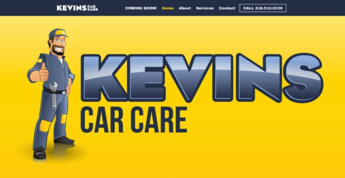 Kevin's Car Care | Websites | Off The Wall Advertising