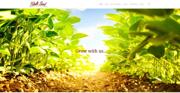 Tobolt Seed | Websites | Off The Wall Advertising