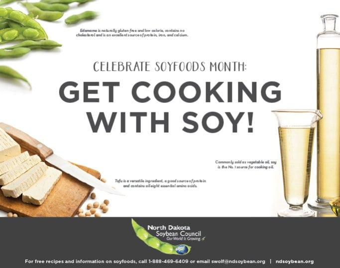 North Dakota Soybean Council | Indoor Billboards | Off The Wall Advertising