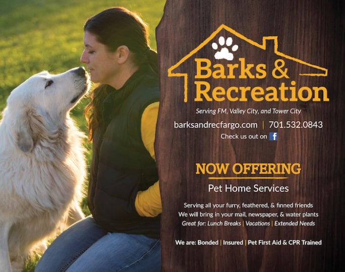 Barks & Recreation | Indoor Billboard | Off The Wall Advertising