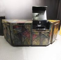 Paul Evans Custom Cabinet with Built in Bar Sink - Off The ...