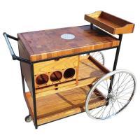 Bill W. Sanders 1964 Rolling Bar Cart or Trolley - Off The ...