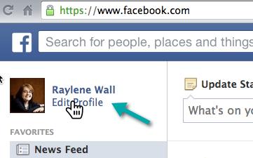 Edit Facebook Profile