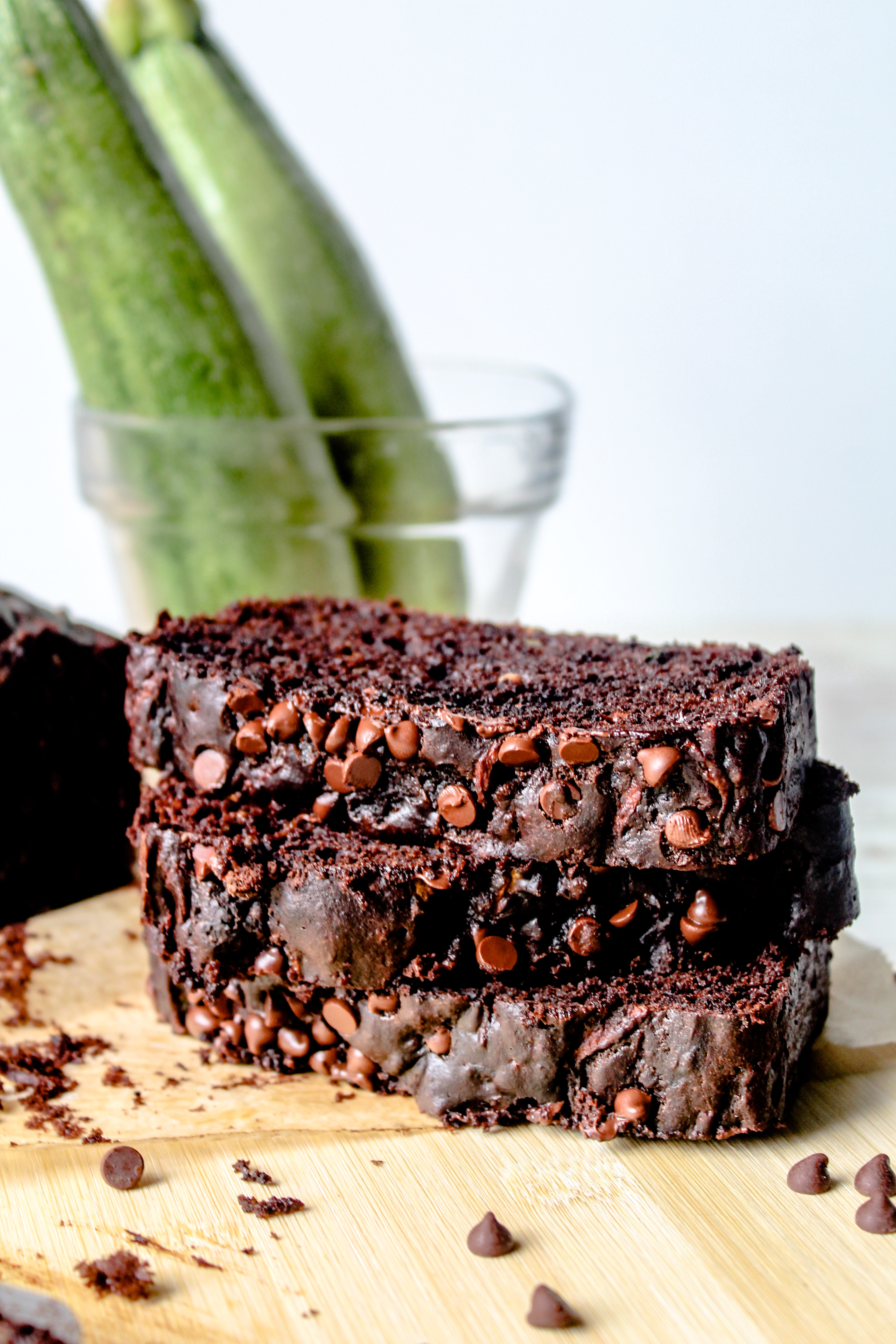 Chocolate Zucchini Bread-10