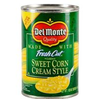 Del Monte Canned Fresh Cut Golden Sweet Cream Style Corn, 14.75-Ounce