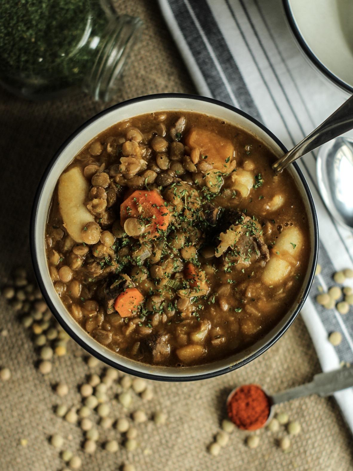 Friday Finds Lentil Soup
