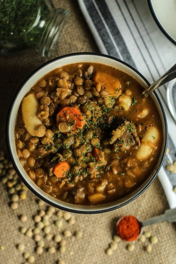 Friday Finds Lentil Soup
