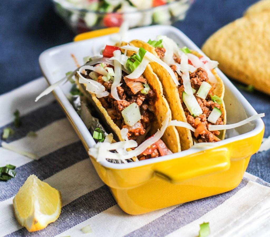 Gluten Free Ground Beef Tacos
