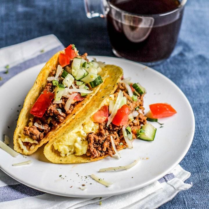 Easy Ground Beef Tacos | Gluten Free