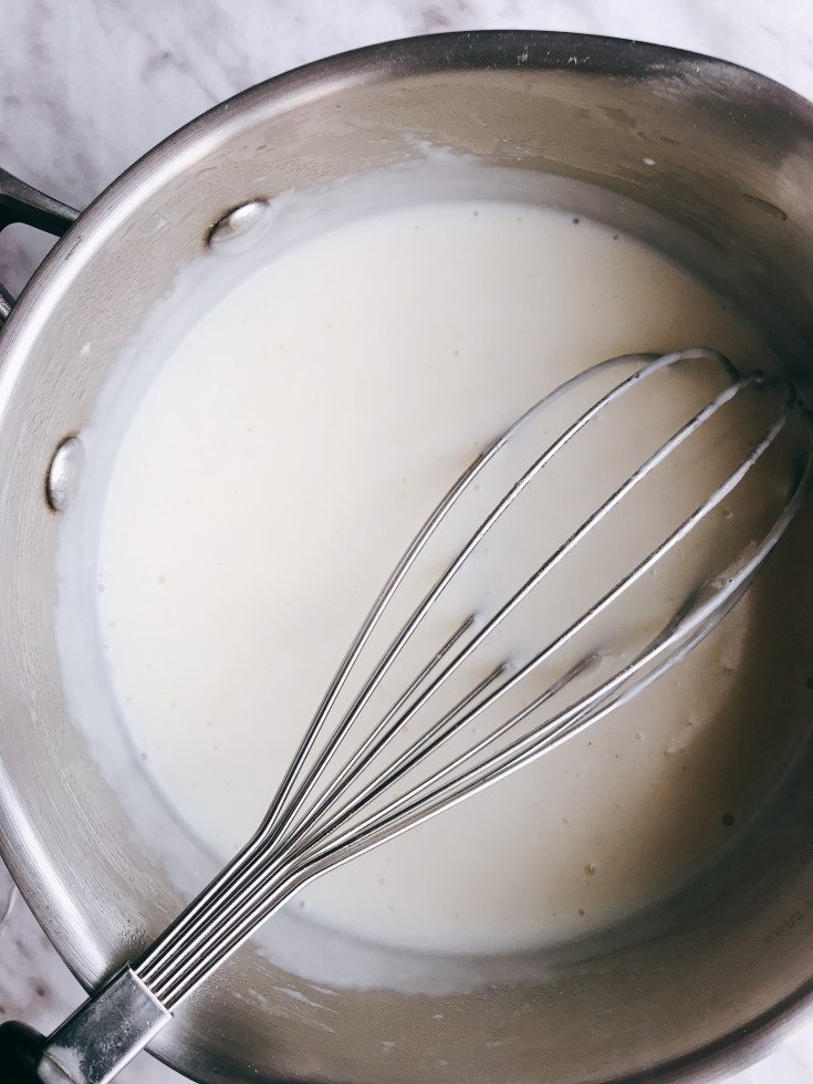 Cooking 101: Basic White Sauce (Gluten Free)