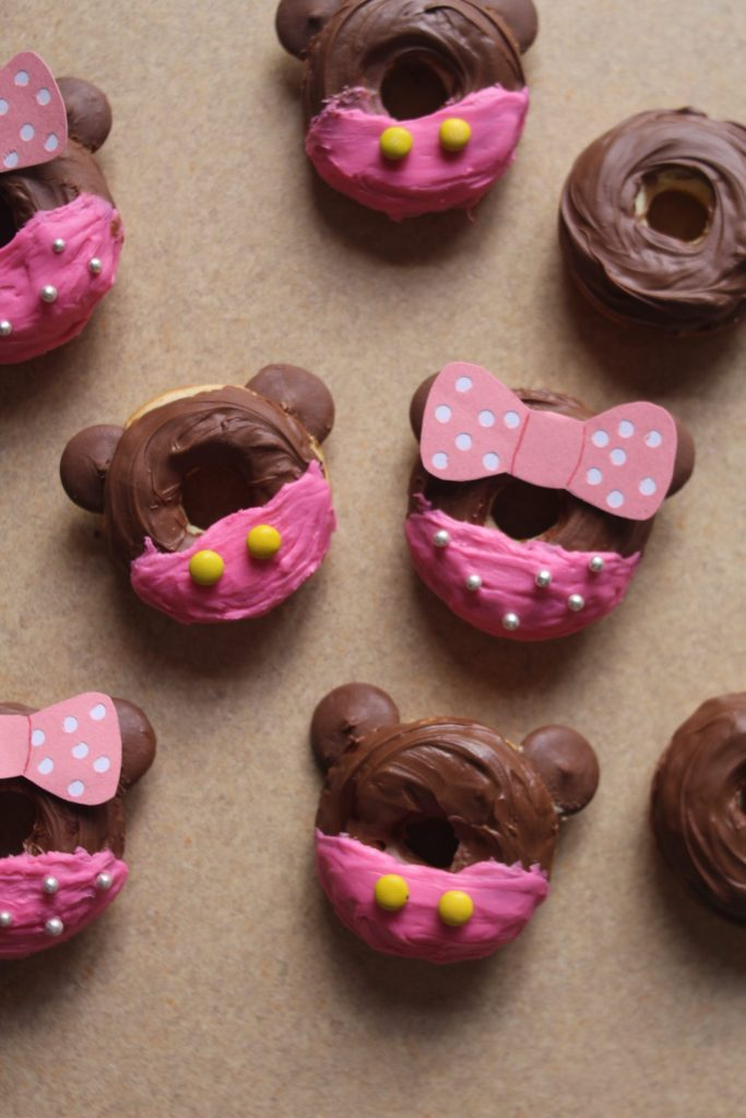 Gluten Free Minnie Mouse Baked Donuts