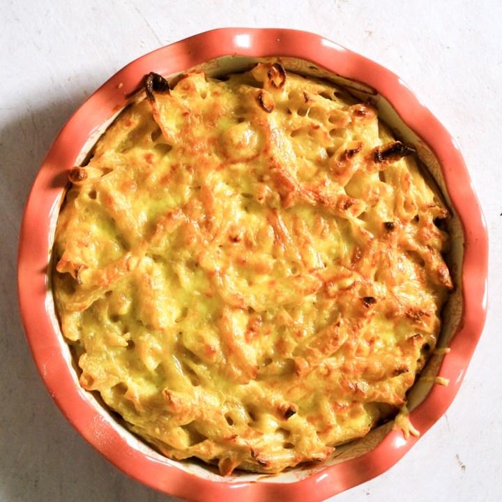 Trinidad Macaroni Pie (Gluten Free)