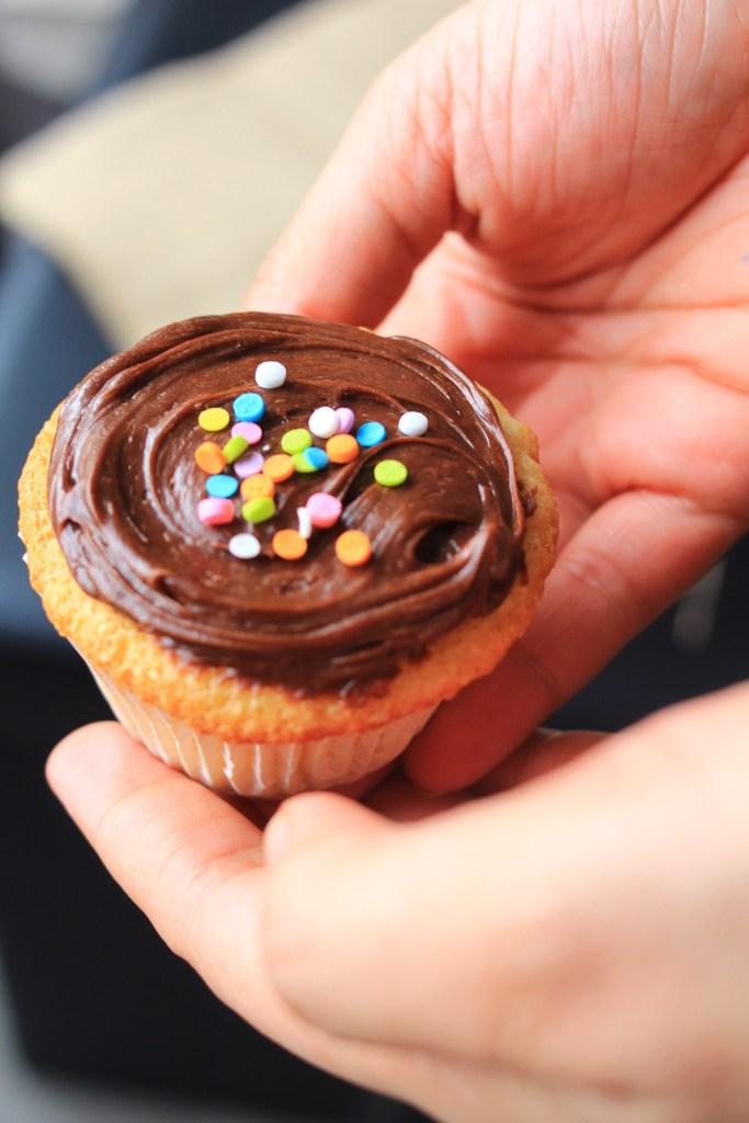 Easy Gluten Free Orange and Chocolate cupcakes