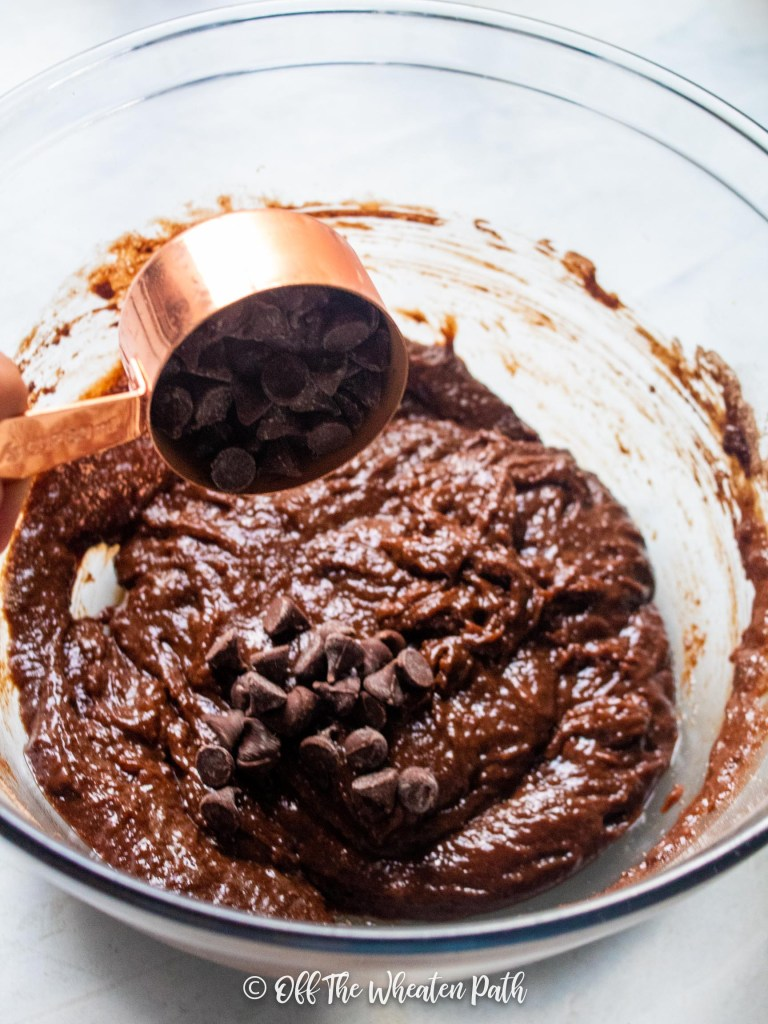 Low Calorie Gluten Free Brownies in a bowl