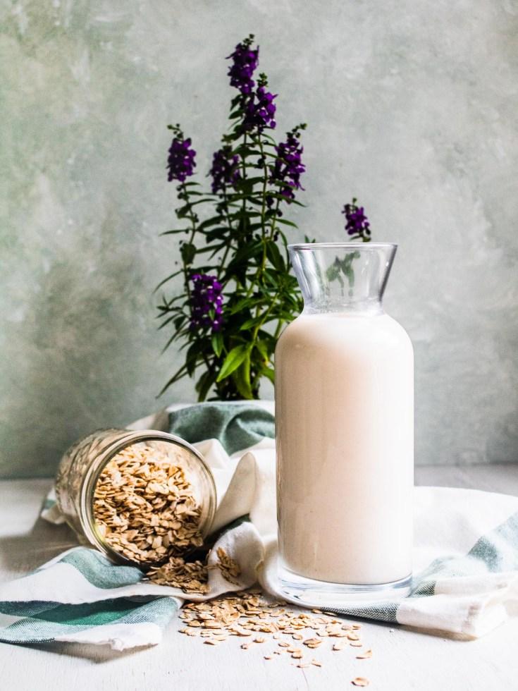 Homemade Gluten Free Oat Milk