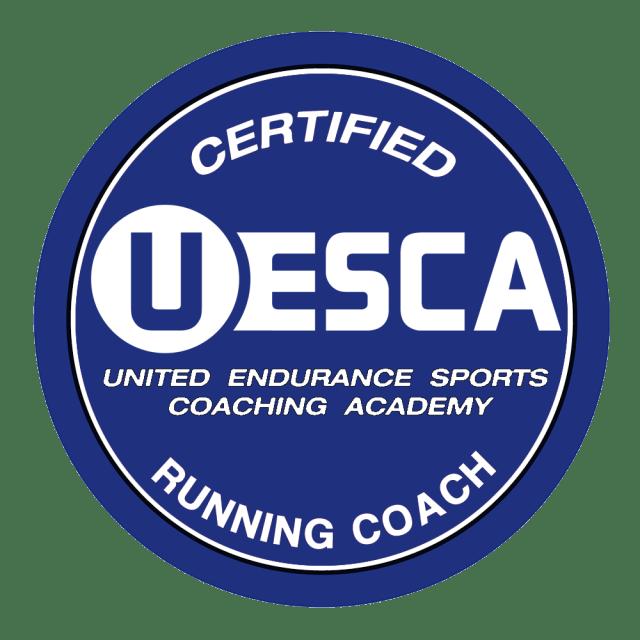 UESCA Certified Running Coach Logo