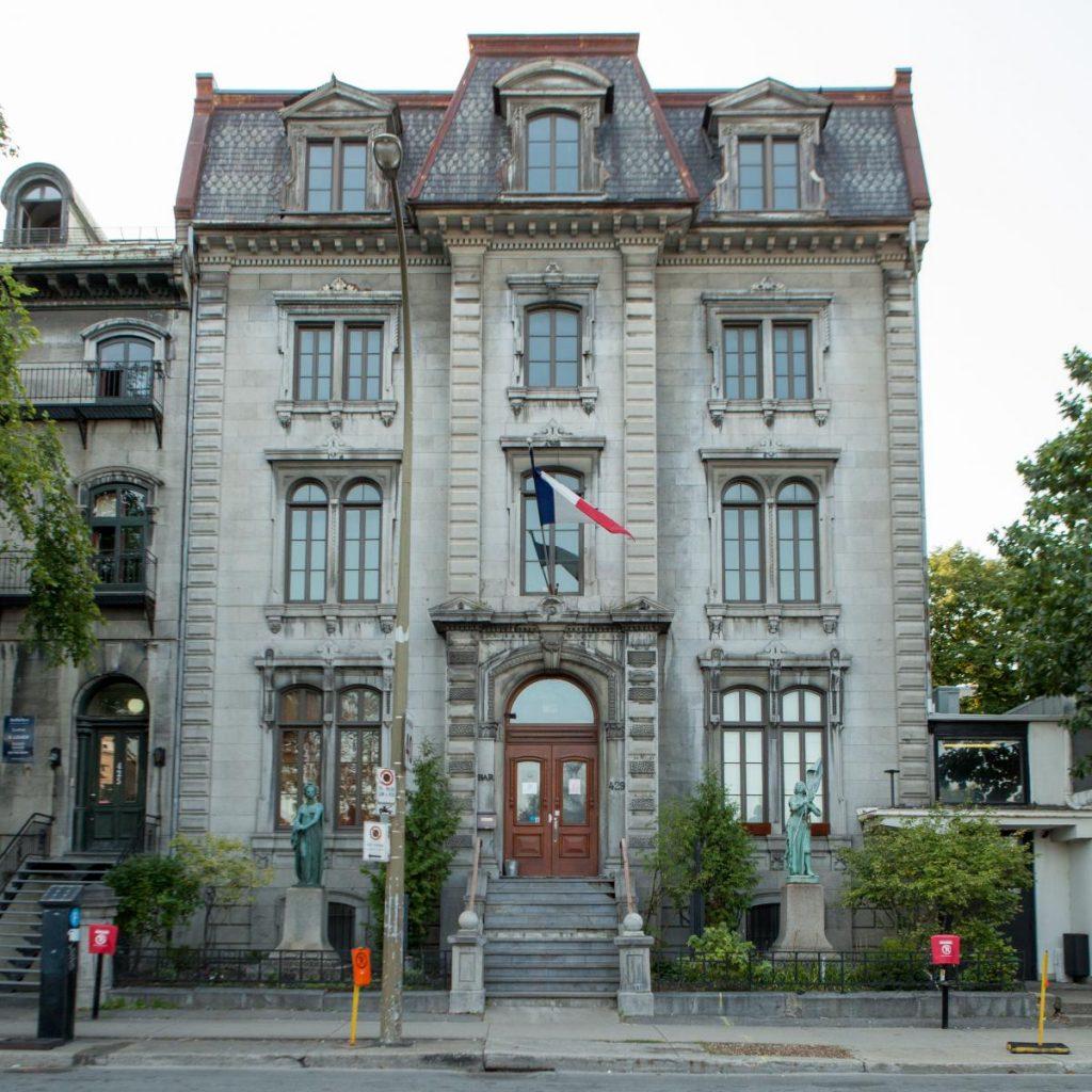 façade Union Française de Montreal