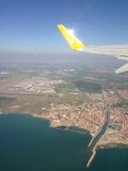 Departure from Roma Fiumicino