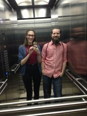 elevator selfie! :)