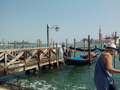 One of the harbors in Venice.