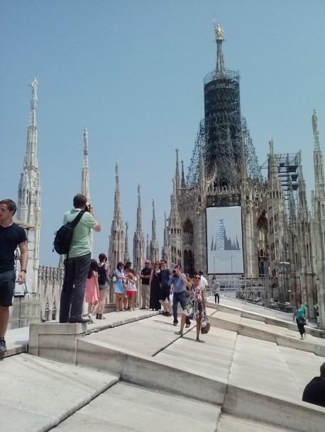 Duomo roof 9
