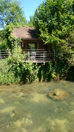 Arbois house by the river