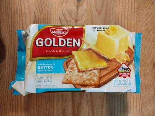 バター風味クリームクラッカー 118円