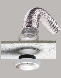 6 x 20 SupurrFlex Metallic Duct Suspended Ceiling