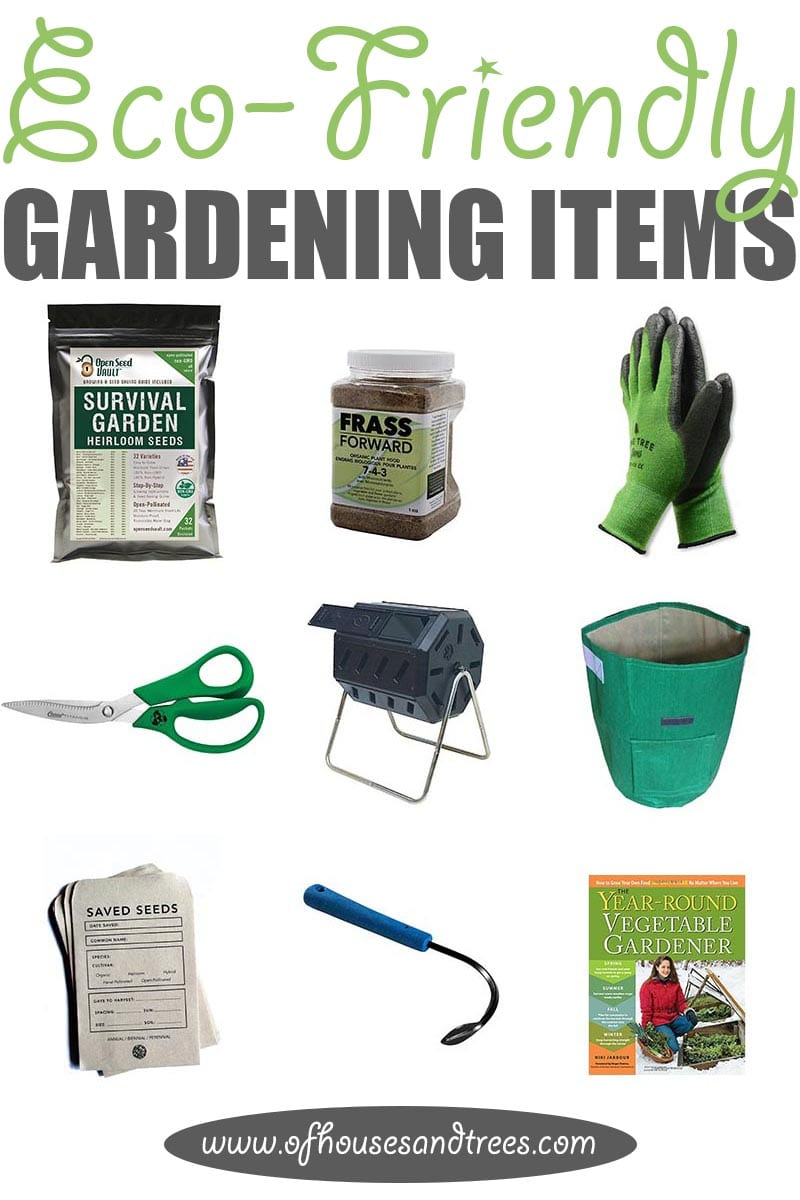 Eco-Friendly Garden | 'Tis the season! For gardening that is. Here are nine eco-friendly garden items - from seeds to shears - that every green thumb needs.